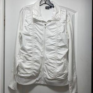Beautiful White FILA workout jacket